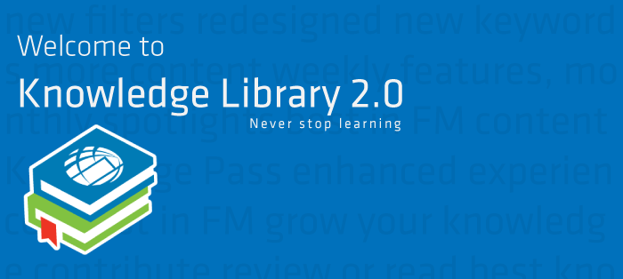Welcome to knowledge library 2.0